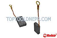 Угольная щётка для дрелей,миксеров Rebir 5х12,5х20 под винт