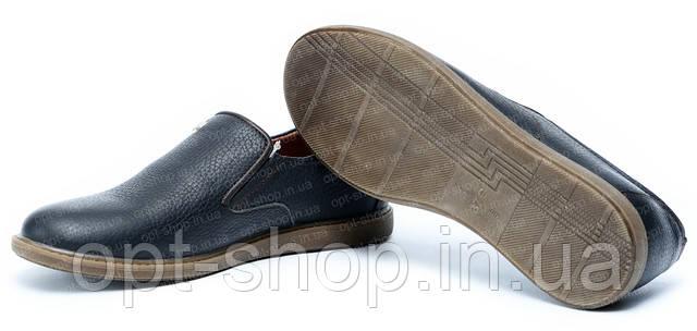 Туфли кожаные детские для мальчика