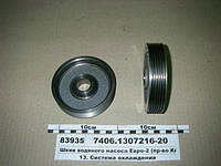 Шкив водяного насоса Евро-2 (пр-во КАМАЗ), 7406.1307216-20