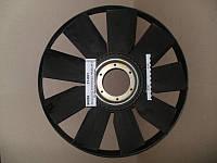Крыльчатка вентилятора 740.50, 51 (710мм) с обечайкой с выгнутым диском (ТЭМ), 21-051, КамАЗ