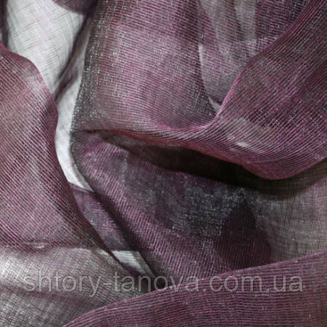 Органза верди фиолет