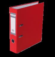 Папка-регистратор Buromax Jobmax Lux А4 70 мм PVC красная
