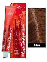 7-764 Краска для волос Schwarzkopf Professional Royal Dusted Rouge - 60мл
