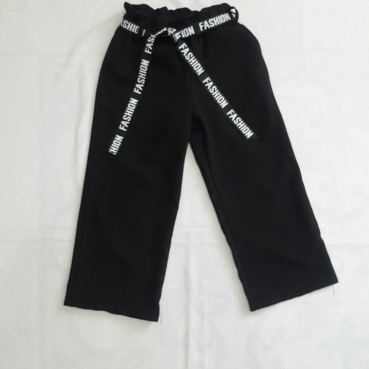 Шкільні брюки-кюлоти для дівчаток