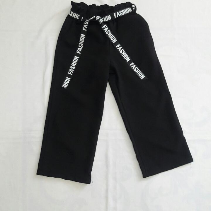 Школьные брюки-кюлоты для девочек