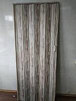 Дверь складная гармошка 910 бамбук 880*2030*10 мм элит