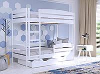 Детская Кровать Дуэт Плюс 80х190 Бук Щит 107 (Эстелла-ТМ)