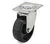 Колеса из фенольной смолы диаметр 80 мм с поворотным кронштейном