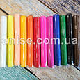 Полимерная глина Пластишка Набор 12 цвета. Полімерна глина Пластішка Набір 12 кольори. Пластика набор 12 цвета, фото 3