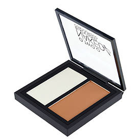 Контурная пудра O.TWO.O Double Color Contour Palette Perfect Naked Shading Powder, 01 Soft Brown, 2.6 г