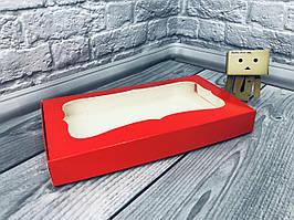 *10 шт* / Коробка для пряников / 150х280х35 мм / Красн / окно-обычн