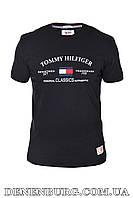 Футболка мужская TOMMY HILFIGER 19-01914 чёрная