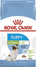 Сухий корм для цуценят мініатюрних порід Royal Canin X-Small Puppy 1,5 кг