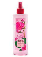 Натуральная Розовая вода с пульверизатором (Гидролат розы) Роза Болгарии Биофреш