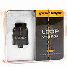 Дрипка GeekVape Loop V 1.5 RDA Black Оригинал., фото 5