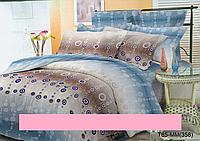 Полуторный набор постельный (рисунок  яркое шарики)