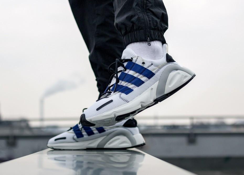 adidas lxcon cloud white active blue