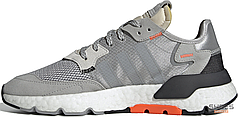 Женские кроссовки Adidas Nite Jogger Grey Two Solar Orange DB3361, Адидас Найт Джогер