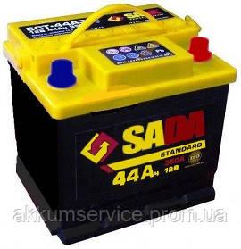 Акумулятор автомобільний SADA Standart 44AH R+ 420A