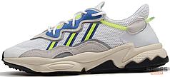 Мужские кроссовки Adidas Ozweego Cloud White Solar Yellow EE7009, Адидас Озвиго