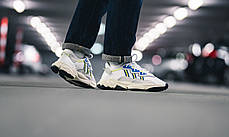 Женские кроссовки Adidas Ozweego Cloud White Solar Yellow EE7009, Адидас Озвиго, фото 3