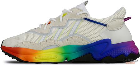 Женские кроссовки Adidas Ozweego Pride (2019) EG1076, Адидас Озвиго, фото 2