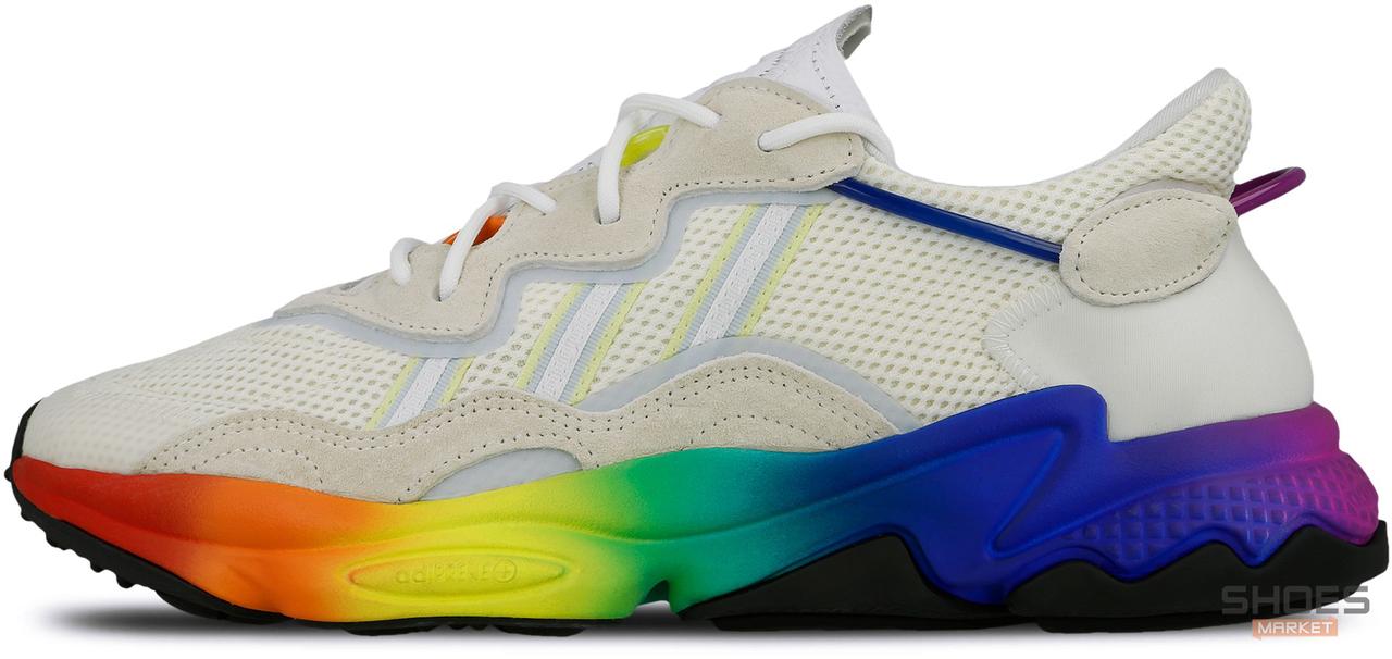 Женские кроссовки Adidas Ozweego Pride (2019) EG1076, Адидас Озвиго