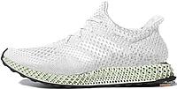 Мужские кроссовки Adidas FutureCraft 4D White Ash Green (F&F) BD7701, Адидас ФючерКрафт 4Д