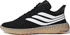 Мужские кроссовки Adidas Sobakov Black White Gum AQ1135, Адидас Собаков