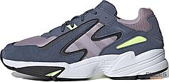 Мужские кроссовки Adidas Yung-96 Chasm Tech Ink Hi-Res Yellow EE7235, Адидас Янг 96