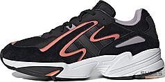 Мужские кроссовки Adidas Yung-96 Chasm Core Black Semi Coral EE7234, Адидас Янг 96