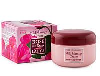 Массажный крем смягчающий Rose of Bulgaria Биофреш 330 мл