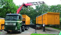 Перевозка строительных вагончиков в Киеве, фото 1