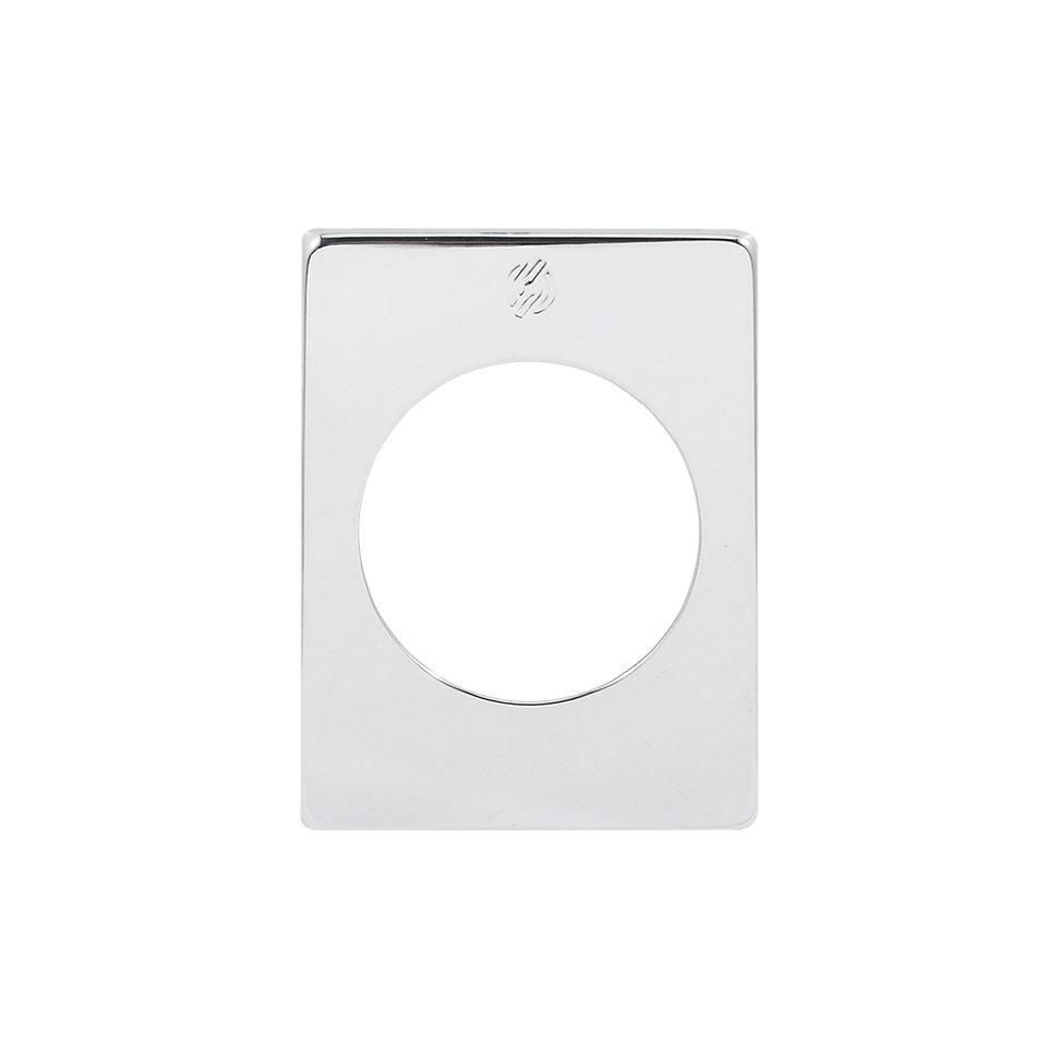 Securemme 4350KСL Декоративная накладка прямоугольная хром