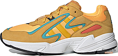Мужские кроссовки Adidas Yung-96 Chasm Flash Orange Hi Res Aqua EE7228, Адидас Янг 96
