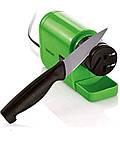 Электроточилка для ножів SilverCrest seas 20 B1, жовта, фото 3