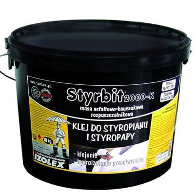 Клей-мастика гідроізоляція Izolex STYRBIT 2000 10 кг