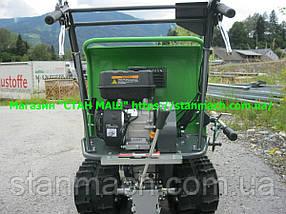 Zipper ZI-MD300 ( Думпер ) Бензиновый гусеничный, мини самосвал, фото 2