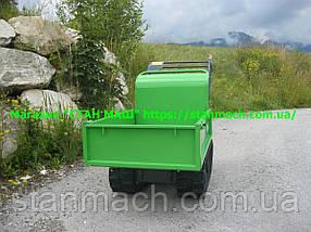 Zipper ZI-MD300 ( Думпер ) Бензиновый гусеничный, мини самосвал, фото 3
