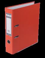 Папка-реєстратор Buromax Jobmax Lux А4 70 мм PVC помаранчева