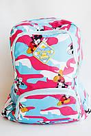 """Рюкзак детский Mickey Mouse для девочки, размер 38*28*16 см (3 цв.) """"HAWAII"""" недорого от прямого поставщика"""