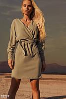 Трикотажное повседневное платье