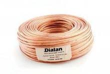 Акустичний кабель Dialan CCA 2x1.00 мм ПВХ 100 м