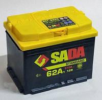 Аккумулятор автомобильный SADA Standart 62AH L+ 570A