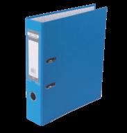 Папка-реєстратор Buromax Jobmax Lux А4 70 мм PVC світло-синя