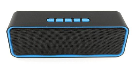 Портативная Bluetooth колонка SPS 211 BT, синяя