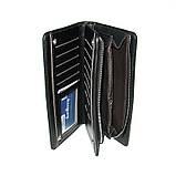 Чоловічий гаманець Baellerry S618-357 чорний, фото 5