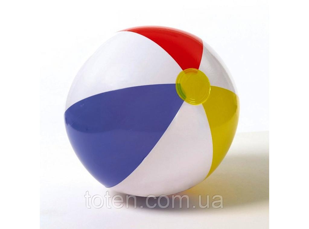 Дитячий надувний м'яч Intex 59020 різнобарвний, 51 см