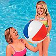 Дитячий надувний м'яч Intex 59020 різнобарвний, 51 см, фото 2