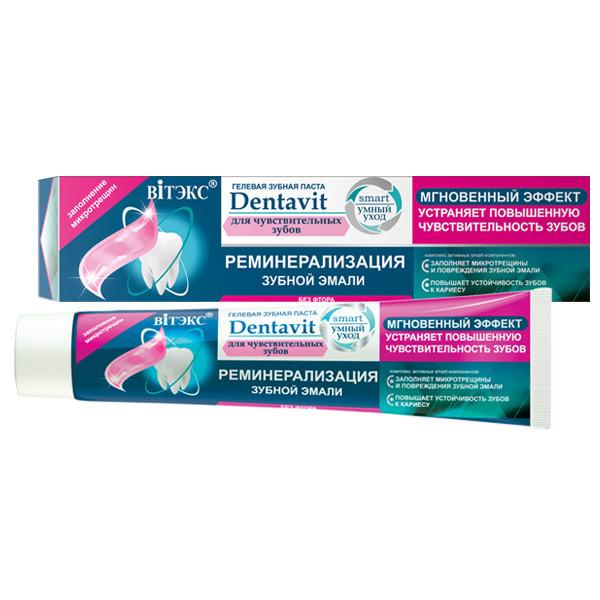 Зубная паста для чувствительных зубов Витекс Dentavit Smart 85 гр